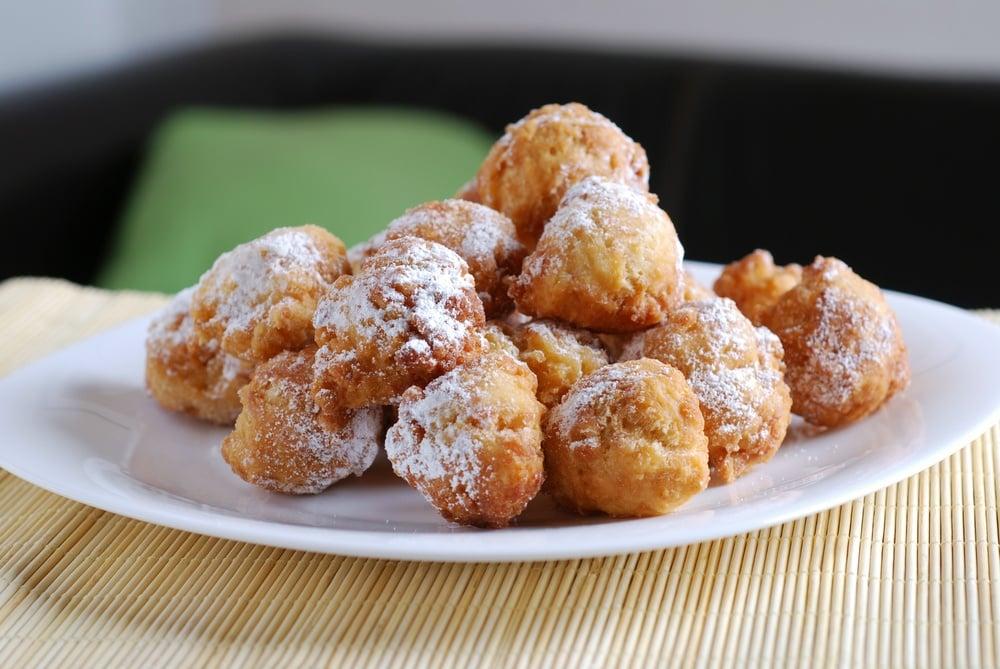 Air-Fried Fried Dough Balls Recipe