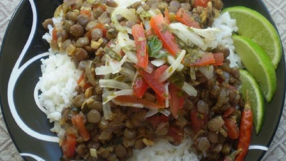 Ají De Lentejas (Bolivian Spicy Lentil Stew)