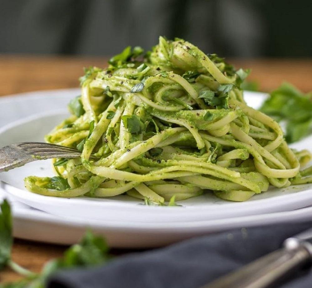 Green Pasta (By Veggie Desserts)