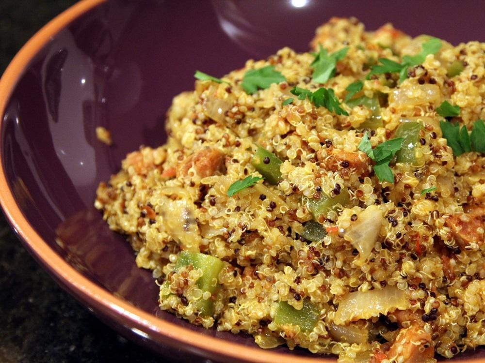 Huaraches and Spanish Quinoa  Cin Cin, Let's Eat!