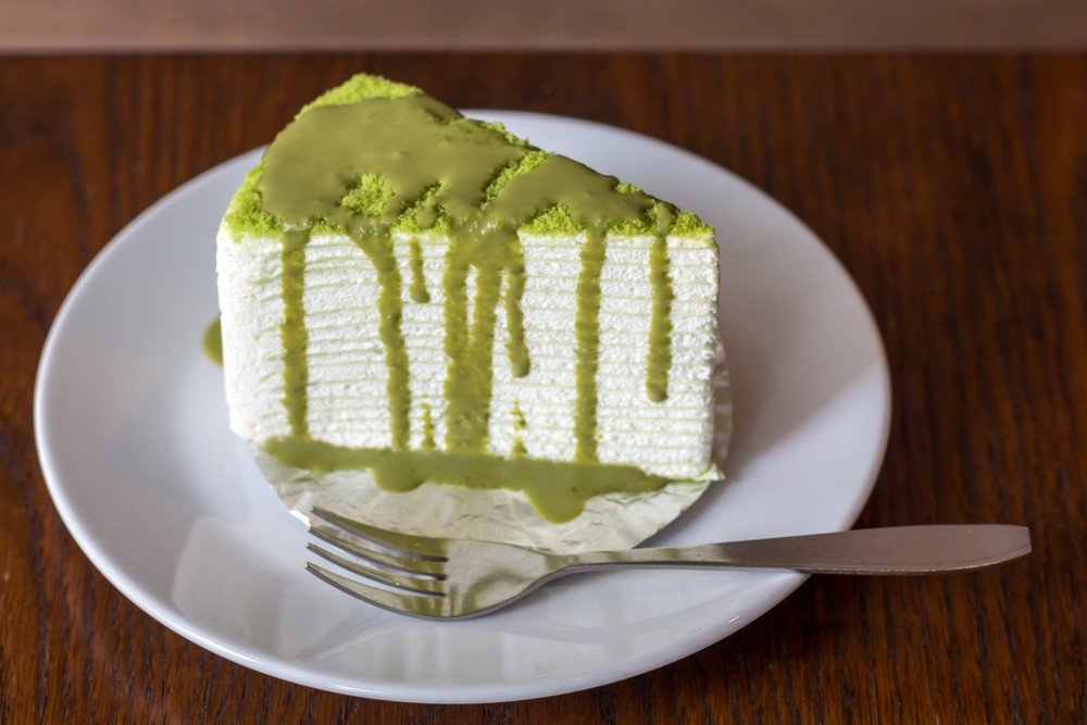 Matcha Bavarois Cake Recipe