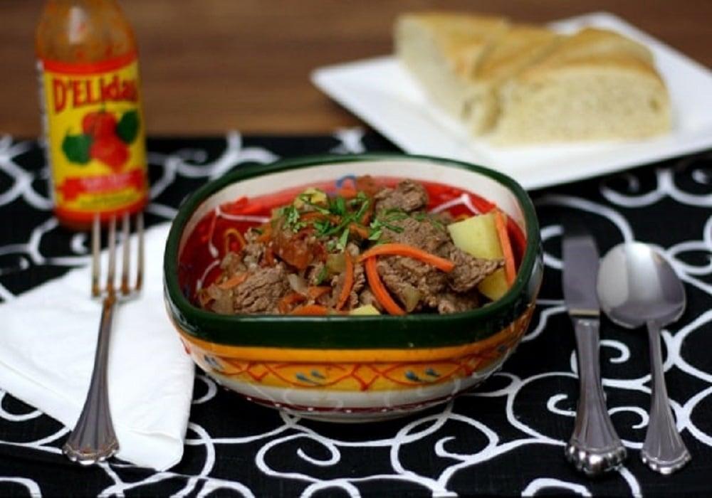 Panamanian Beef Stew Recipe