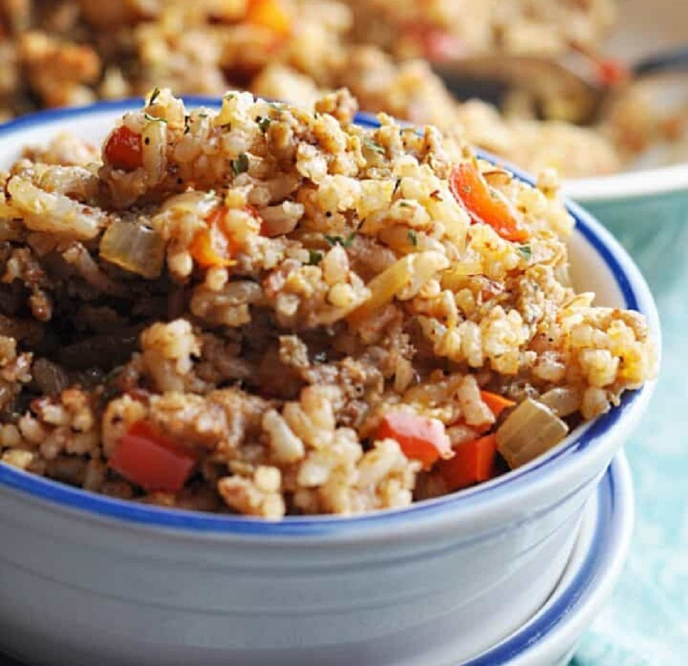 Savory With Soul - Bojangles Dirty Rice Easy Copycat