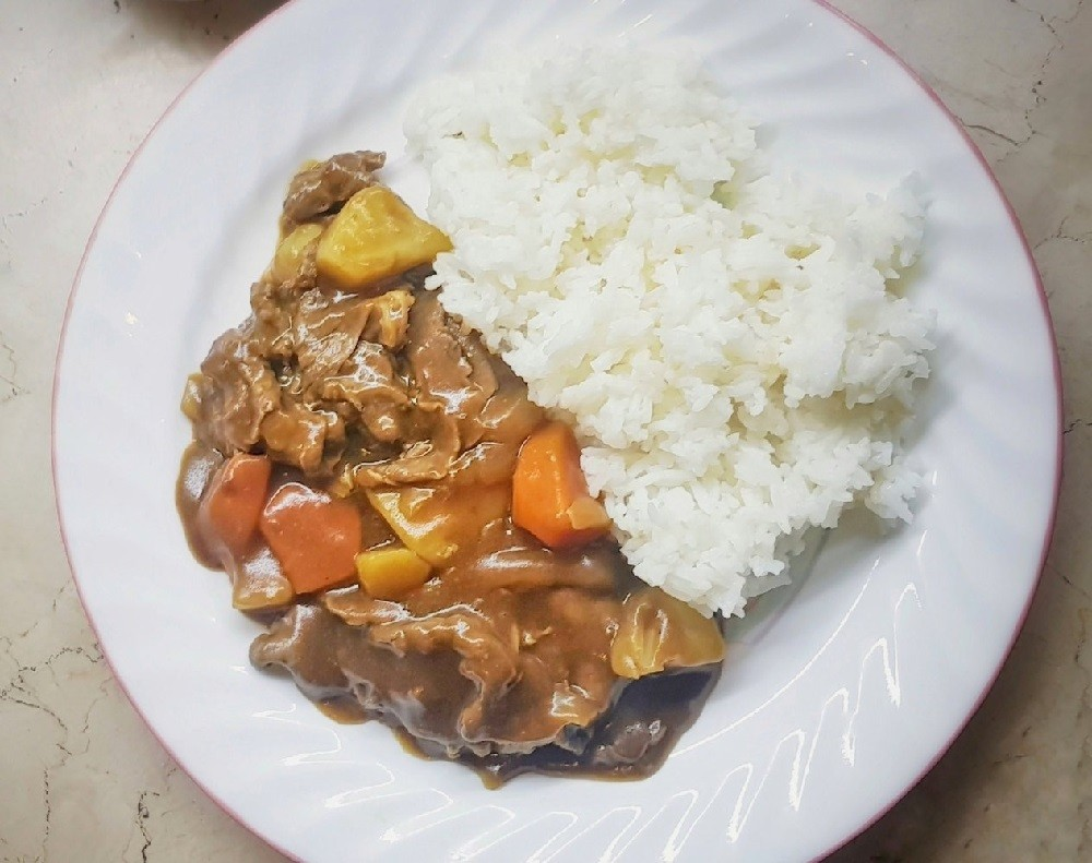 A Lot Of Kitchen Eats: Japanese Sliced Beef Curry - Coco Ichibanya Style