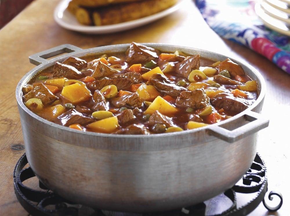 Beef & Potato Guiso by Goya Foods