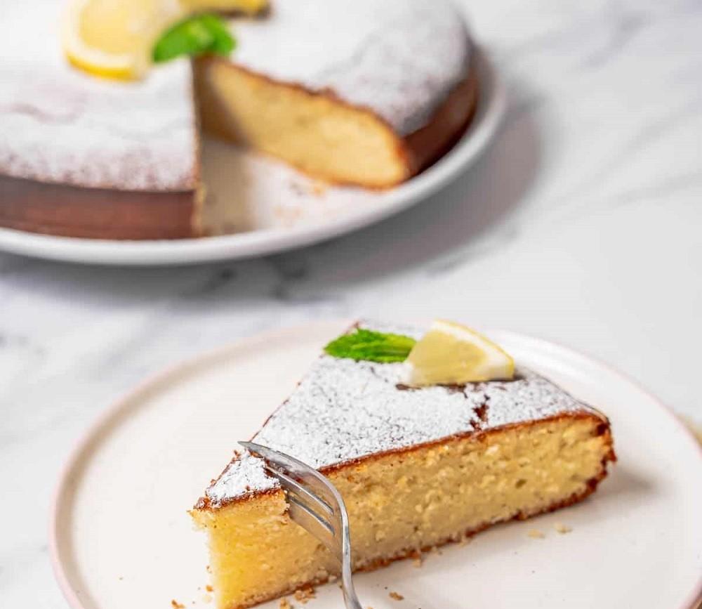 Best Lemon Olive Oil Cake - Spanish Sabores
