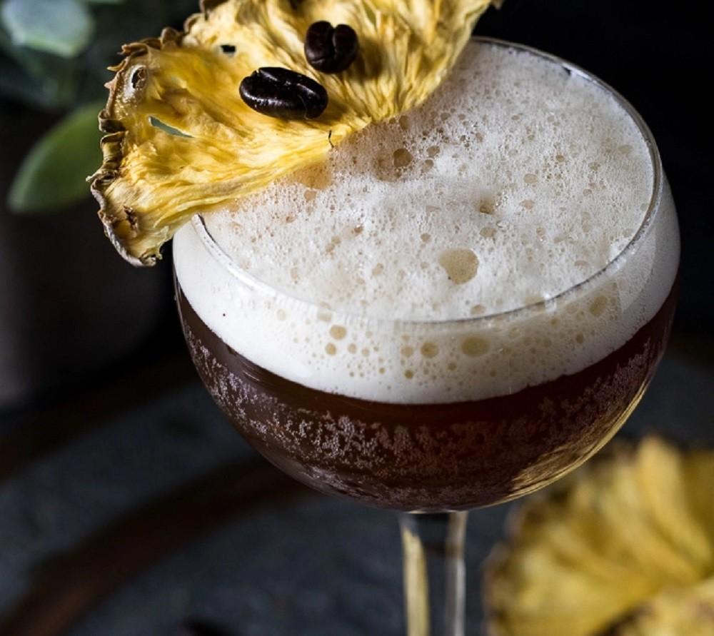 Bourbon Carajillo by Cocktail Contessa