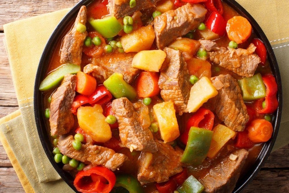 Carne en su Jugo (beef in its own juice) by Just a Pinch