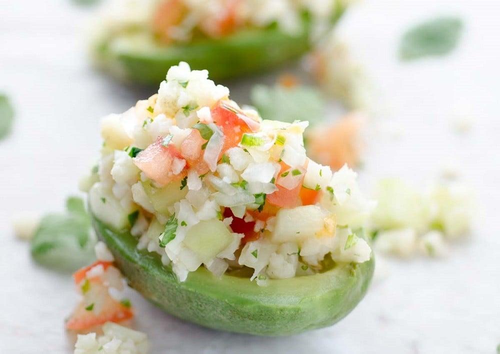 Cauliflower Ceviche - Dora's Table