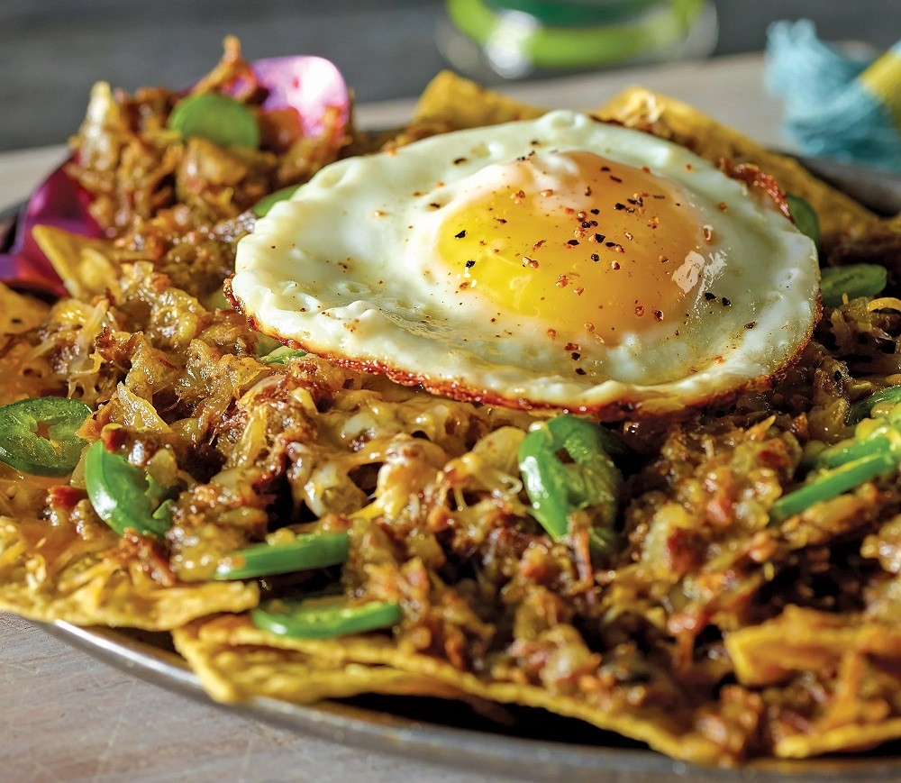 Chilaquiles with Carne Seca - HEB