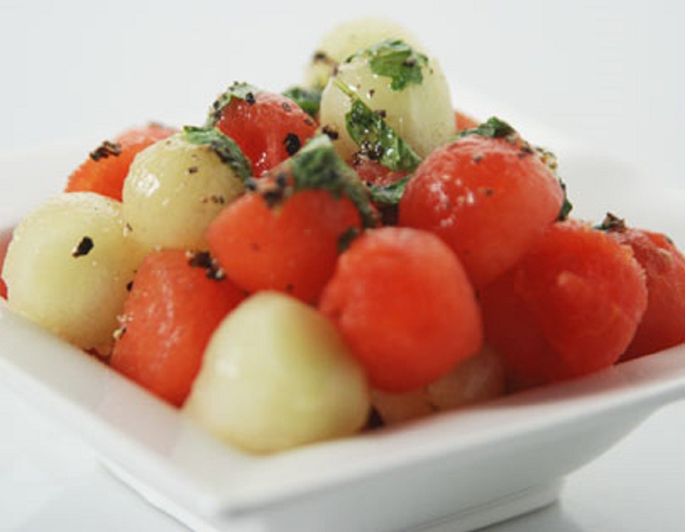Chilled Melon Ball Salad By Sanjeev Kapoor