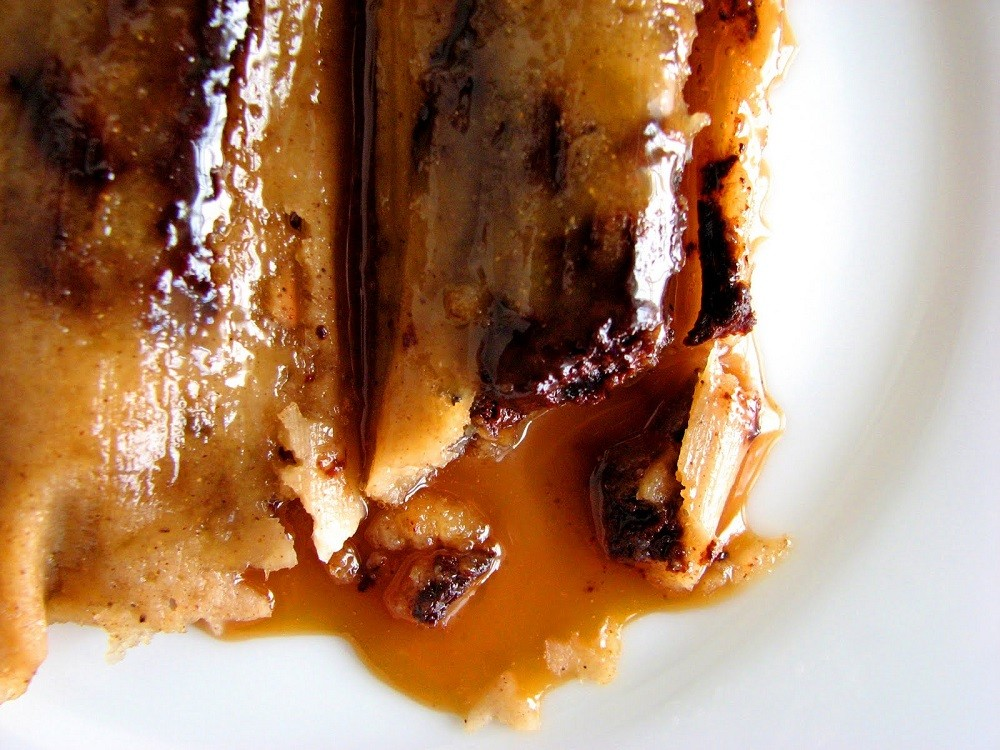 Chocolate Caramel Tamales