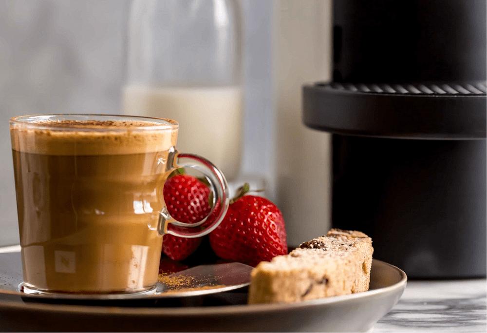 Nespresso - Cinnamon Brown Sugar Cortado