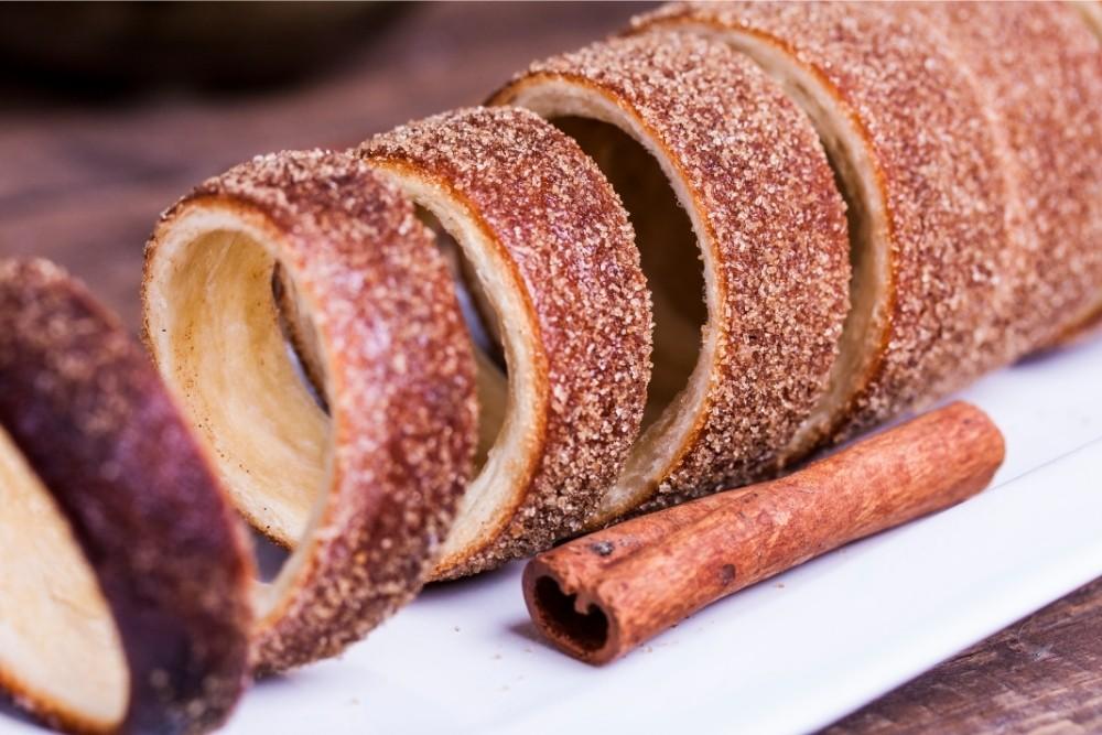 Cinnamon sugar fry bread