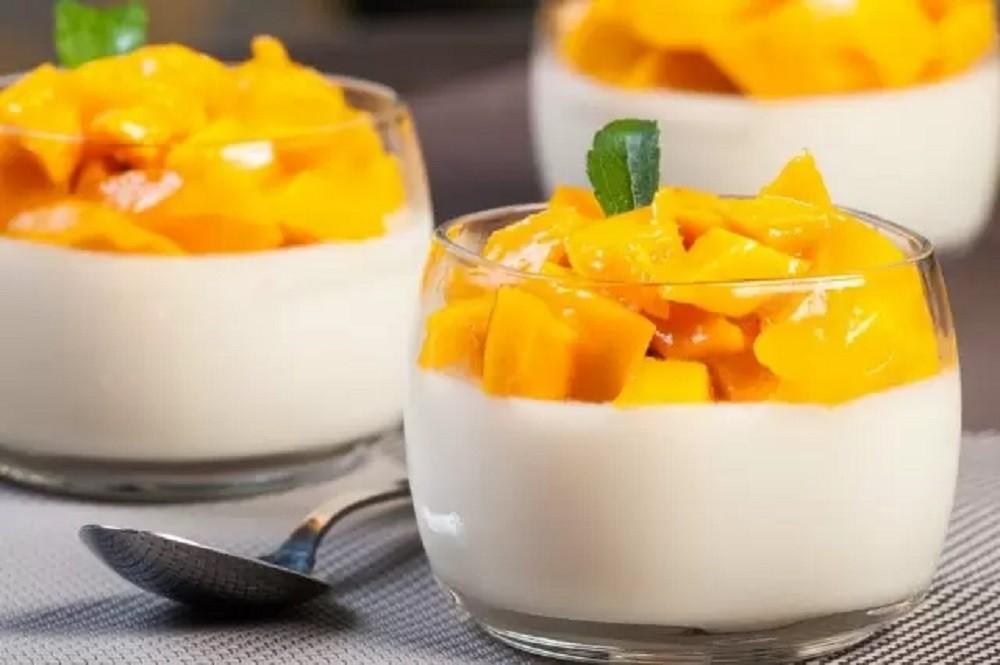 Crema de Vainilla con Frutas - Kiwilimon