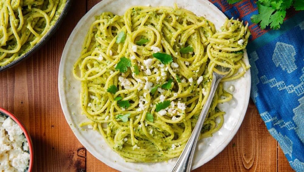 Green Spaghetti (By Delish)