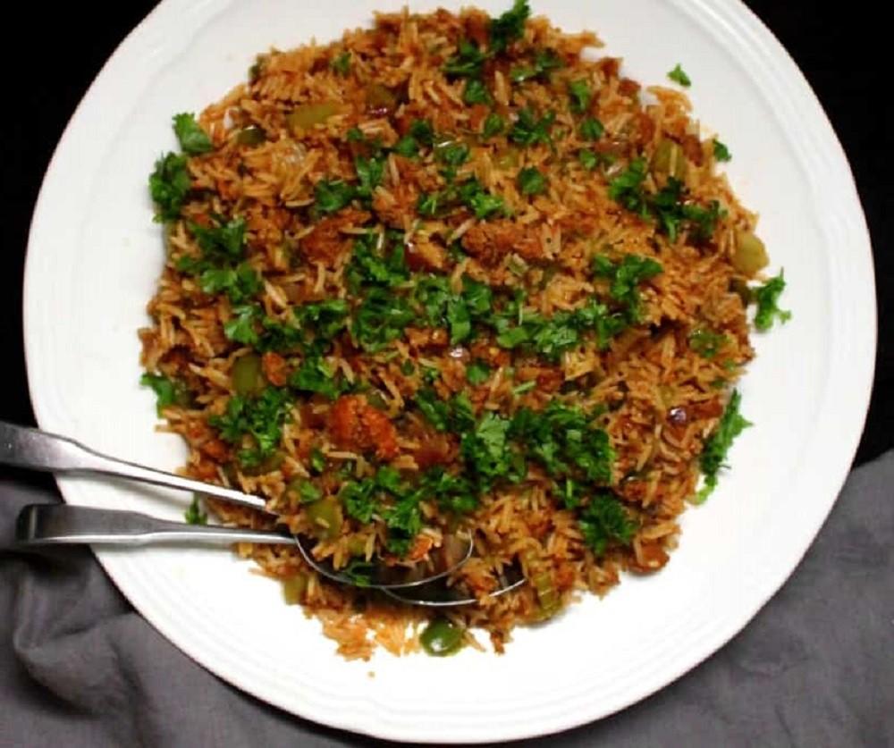 Holy Cow! Vegan Recipes - Vegan Dirty Rice