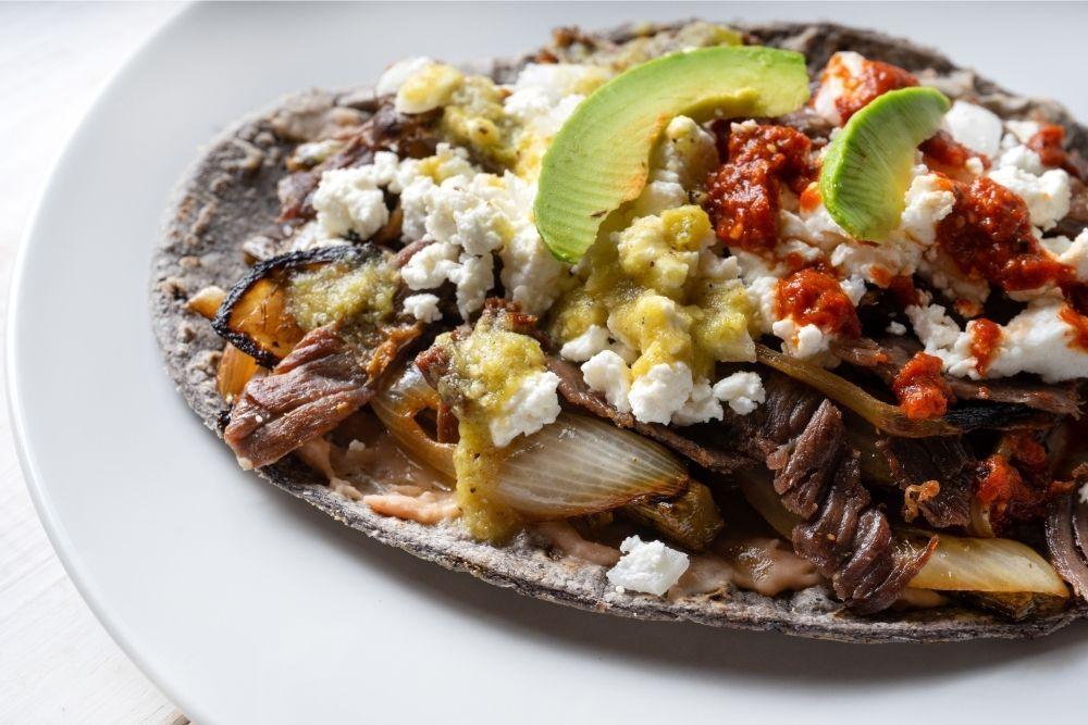 Huaraches with Salsa & Chorizo | Keep Recipes