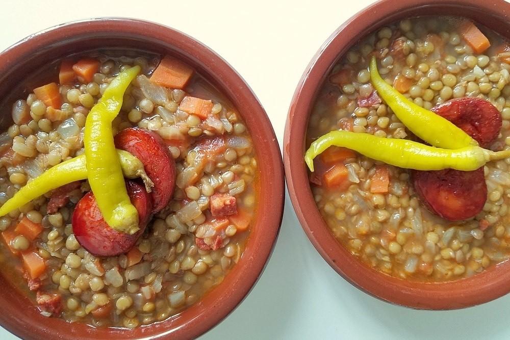 Lentejas con Chorizo Recipe (Simple Spanish Lentil Soup)