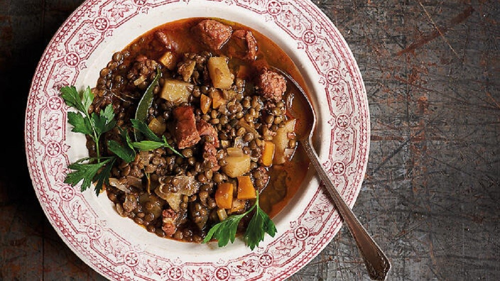 Lentil Guiso by The Food of Argentina