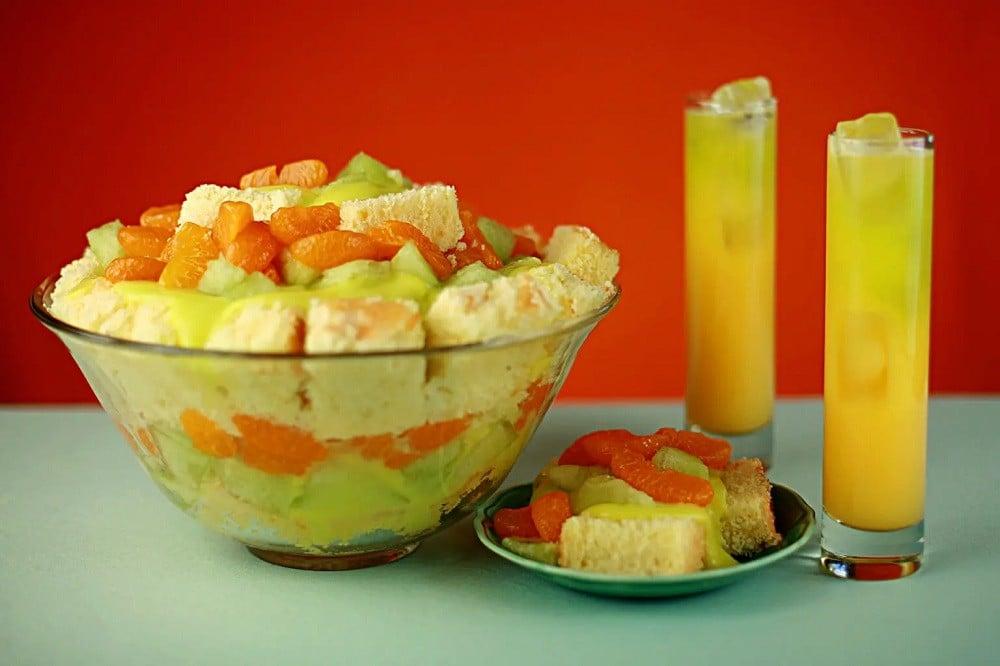 Melon Ball Trifle Recipe By Celebration Generation