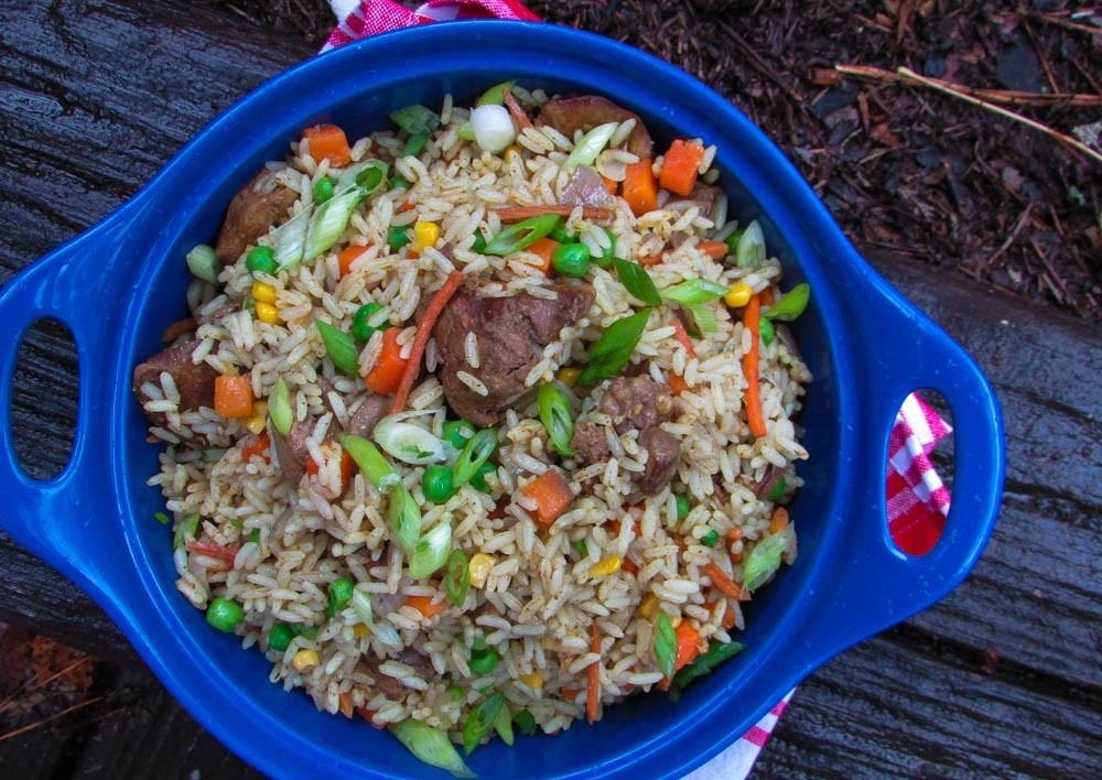 Nigerian Lazy Chef - Nigerian Dirty Rice