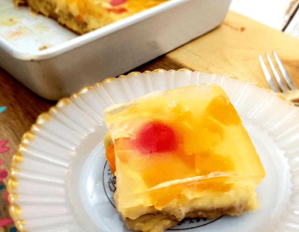 No-Bake Crema de Fruta Cake - Pinoy Cooking Recipes