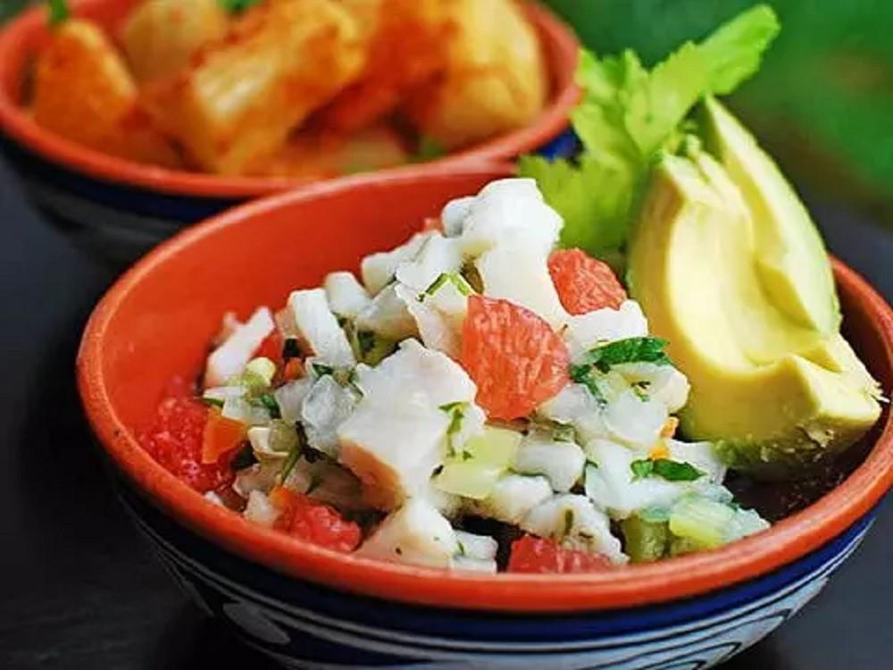 Panamanian Fish Ceviche