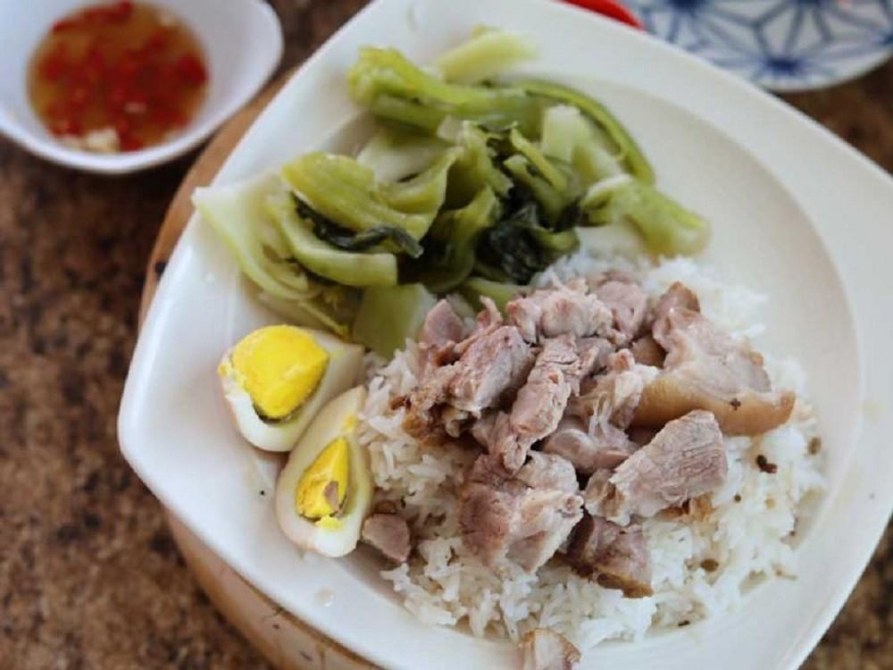 Pork Leg On Rice, 'Khao Kha Moo'