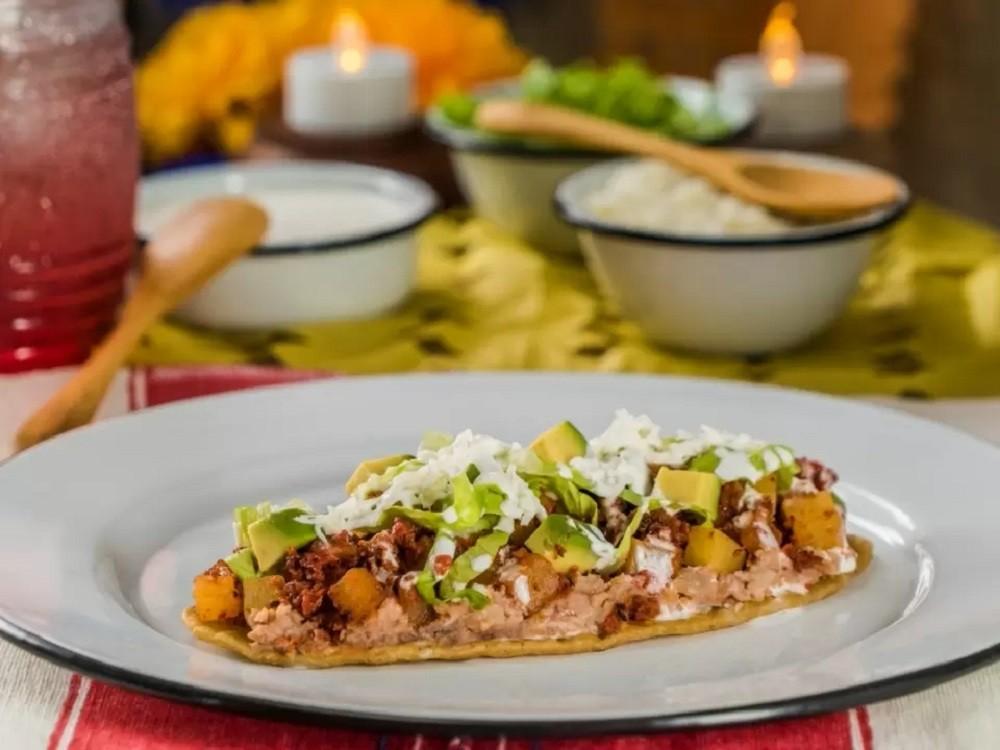 Potato and Chorizo Huaraches