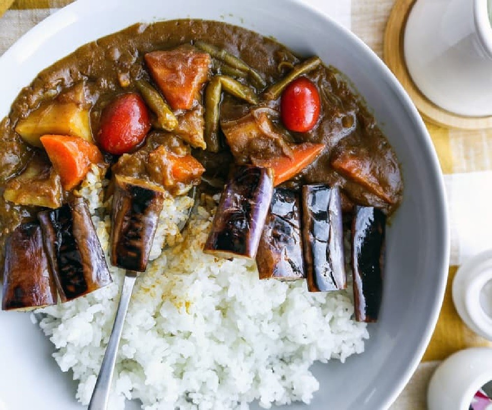 Punch Fork: Japanese Coco Ichibanya-Style Vegetable Curry