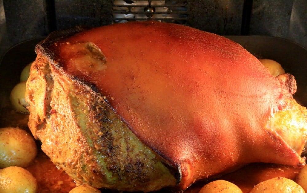 Roasted Pork Leg - Hornado De Chancho