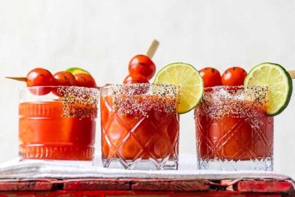 Roasted Tomato Margarita