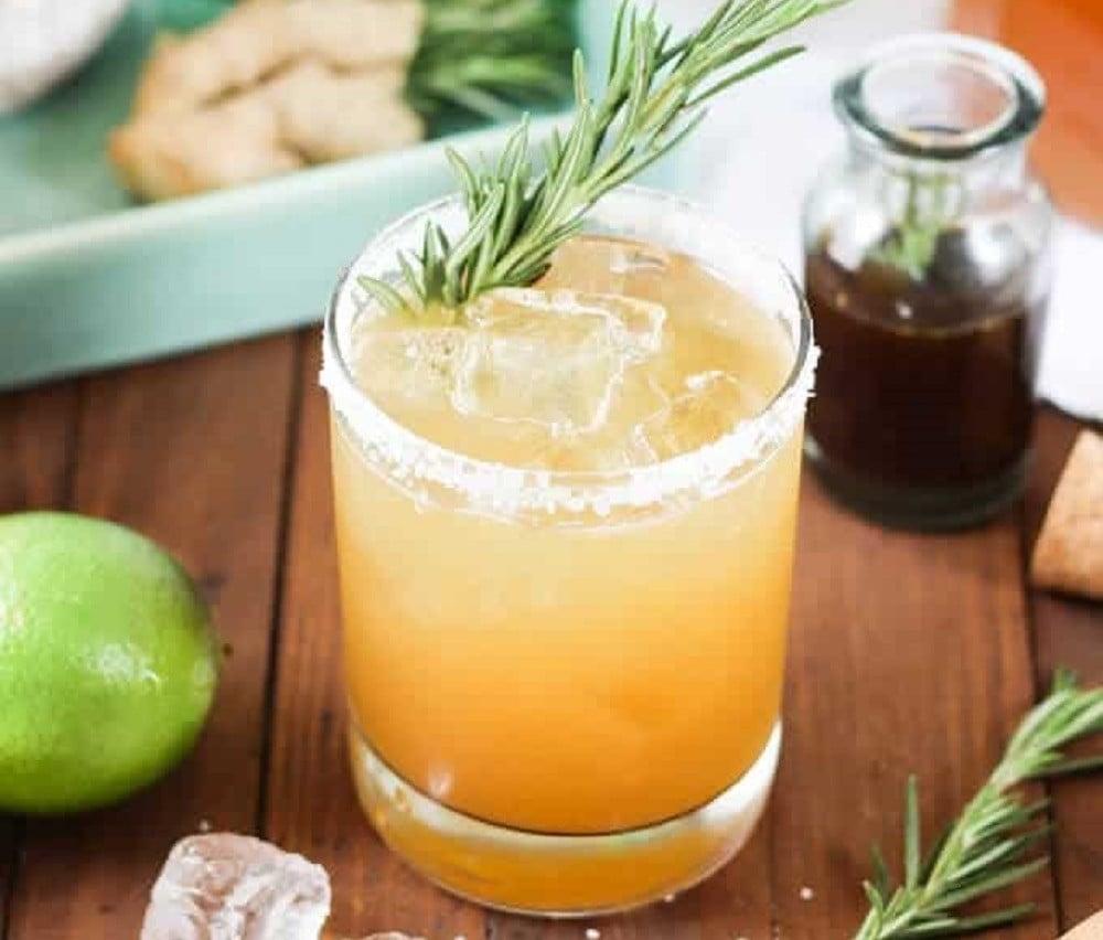 Rosemary Ginger Margarita
