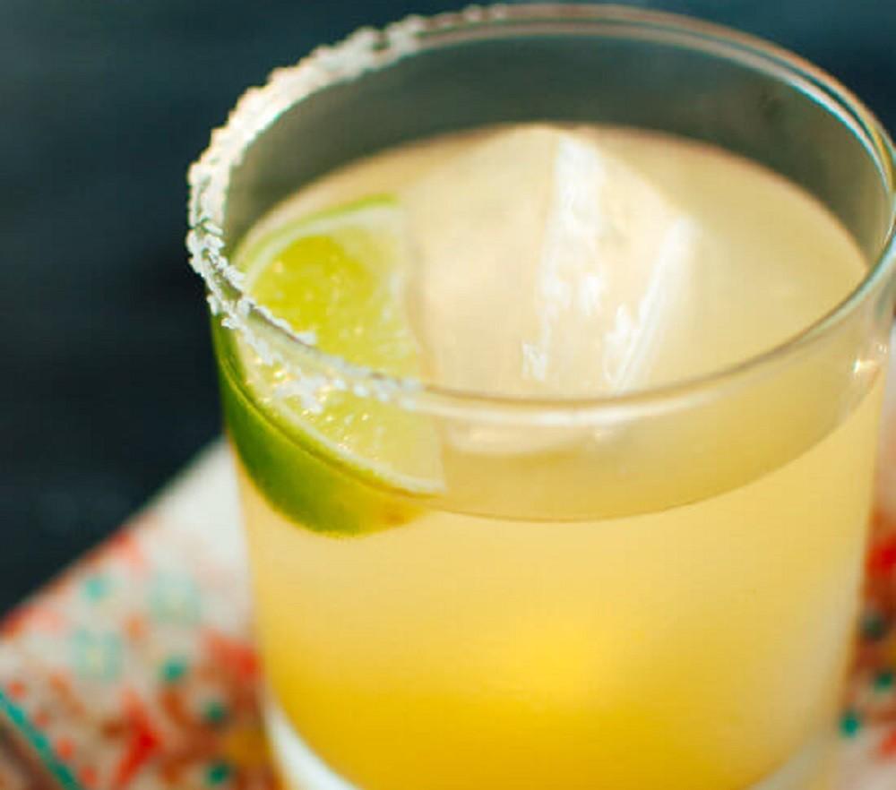 Skinny Top Shelf Margarita