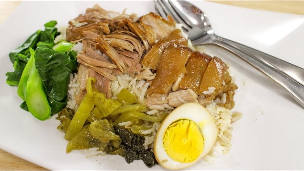 Slow-Braised Pork Leg of Rice