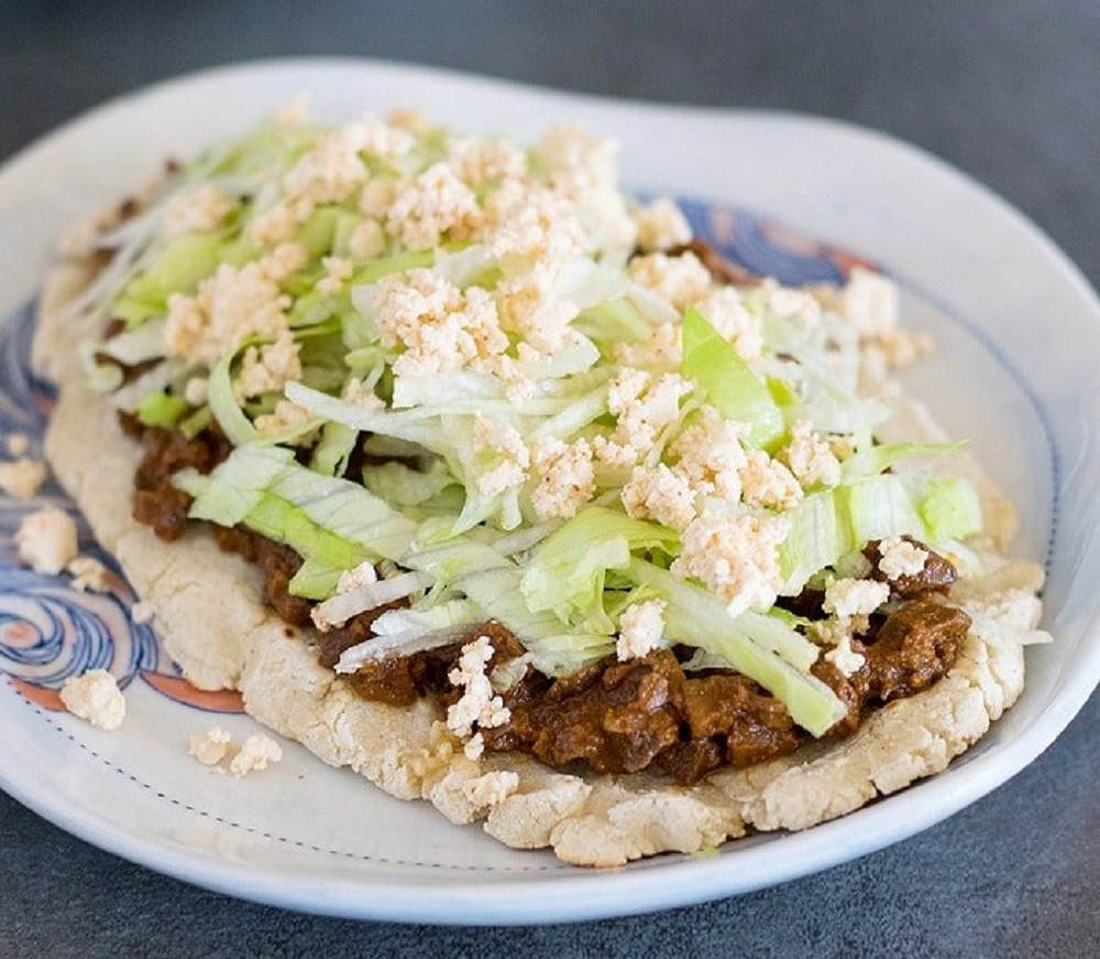 Slow Cooker Mole Mushroom Vegan Huaraches | Healthy Slow Cooking