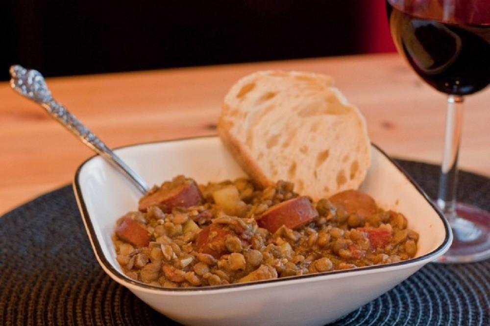 Spanish Lentil Stew (Lentejas)