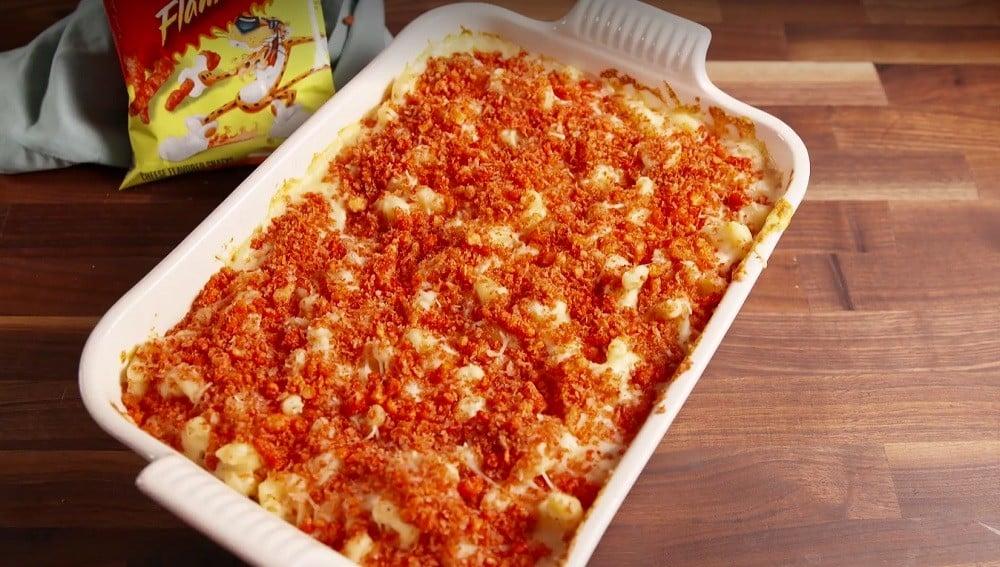 Takis Mac and Cheese