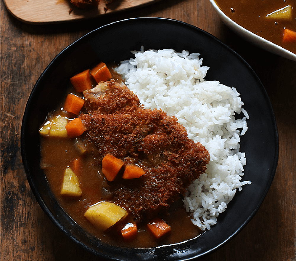 The Peach Kitchen: Japanese Curry With Pork Cutlet