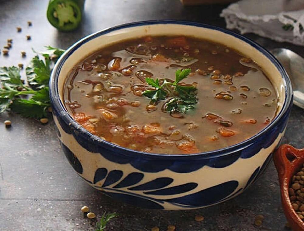 Vegan Lentil Soup | Sopa De Lentejas
