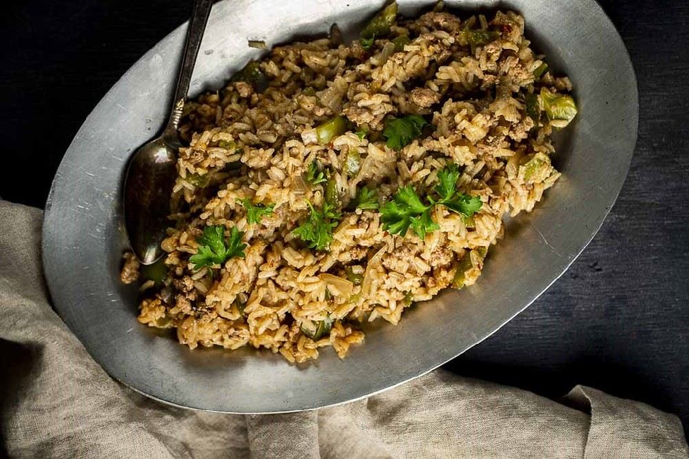 Went Here 8 This - Cajun Style Dirty Rice Recipe