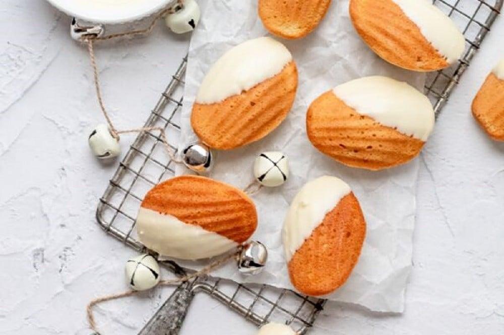White Chocolate Madeleines