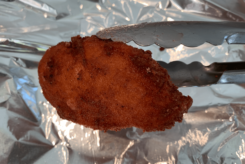 Takis Fuego Fried Chicken